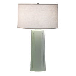 Robert Abbey - Mason Table Lamp, Celadon - -1-150W Max.