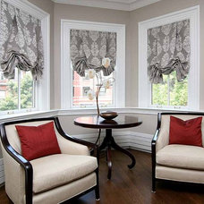 Eclectic Roman Shades by Scott Clark - Smith + Noble