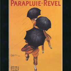 """Parapluie-Revel (ca. 1922)"" Framed Print by Leonetto Cappiello"