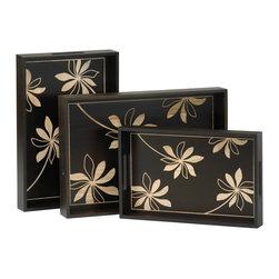 Flora Wood Trays - *Flora Trays