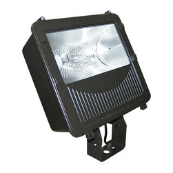 Elco - Elco EMH400L 400W ED28 Large Metal Halide Floodlight - Elco EMH400L 400W ED28 Large Metal Halide FloodlightElco's Flood light collection features die cast aluminum housings, glass diffusers, moisture and dust proofing, and anodized aluminum reflectors. These lights are energy efficient and provide safety to parking areas, perimeter lighting, entrance and walkways, loading platforms, and recreational areas.Features: