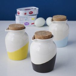 Dipped Sauce Jars - Add some color to your kitchen jars.