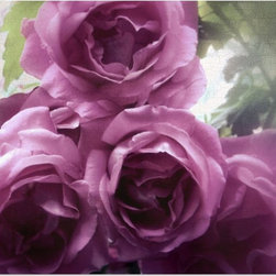 """Studio D&K - Rose Art • Floral Artwork on Canvas • Romantic Wall Art, 18"""" X 24"""" - Romantic large wall art on canvas featuring roses photographed in soft focus for a dreamy effect"""