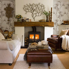 4-mantelpiece-ideas-Wooden-mantelpiece
