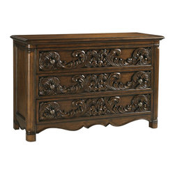 Henry Link - Henry Link Spencer Court Single 3 Drawer Dresser in Pullman Brown - Henry Link - Dressers - 014011151