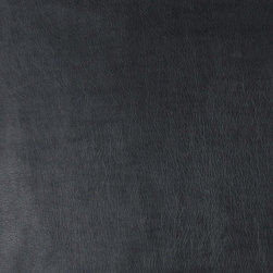 Black Fine Leather Grain Smooth Faux Leather Vinyl By The Yard - This material is great for automotive, commercial and residential upholstery. It is very easy to clean with mild soap and water.