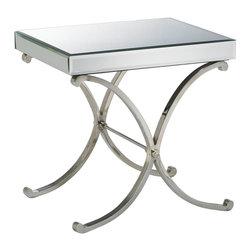 Cyan Design - Cyan Design 00706 Vogue Mirrored Side Table - Cyan Design 00706 Vogue Mirrored Side Table