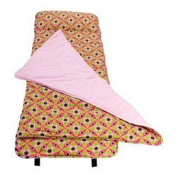 Wildkin Ashley Collection Kaleidoscope Nap Mat - The Wildkin Ashley Collection Kaleidoscope Nap Mat has been rigorously tested to ensure that all parts are lead-free, bpa-free, phthalate-free, and conform to all rules and regulations set forth by the Consumer Products Safety Information Act. This product is naturally flame-resistant and is not treated with chemicals. Conforms to the U.S. flammability test requirements for sleeping bags as set forth in CPAI-75.About WildkinUnpacking the world of children's luggage, Wildkin offers a wide collection of outrageously fun and fantastically practical bags, backpacks, mats, sleeping bags, and more. Each Wildkin piece is available in over 30 unique patterns so parents can be sure to match individual tastes with personalized designs. As safe as they are dynamic, all Wildkin products are crafted with durable, kid-safe materials and tested to ensure the highest quality.