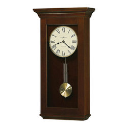 Howard Miller - Howard Miller Continental Wood Wall Clock in Cherry Bordeaux - Howard Miller - Wall Clocks - 625468 - For over 70 years Howard Miller has understood the need to create products that are steeped in quality and value and to never expect anything less than the best. No matter the price of the purchase you have Howard Miller's assurance of quality that is reflected in both the products they create and in the people whose artistic talents they rely on to manufacture them. Incomparable workmanship. Unsurpassed quality. A quest for perfection.