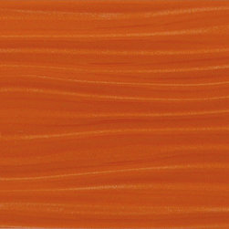 "Euro Glass - Orange Burst-Sold by Box 4"" x 12"" Orange Bathroom Glossy Glass - Tile Size:  4"" x 12""        Box:   3.26 Sq. Ft. per box-Sold by the box - 10 pieces per box        Tile thickness:  1/4""     -"