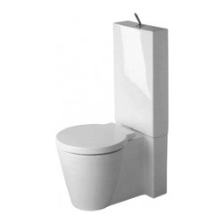 Duravit - 2330900641 Round Close Coupled Washdown Toilet Bowl with Vario Outlet from Starc - Have you ever heard the saying Well see if it stands the test of time Well Duravit has done just that for nearly 200 years now Duravit has been making quality sanitary ceramics bathroom furniture baths pools and spa products The company as a whole we...