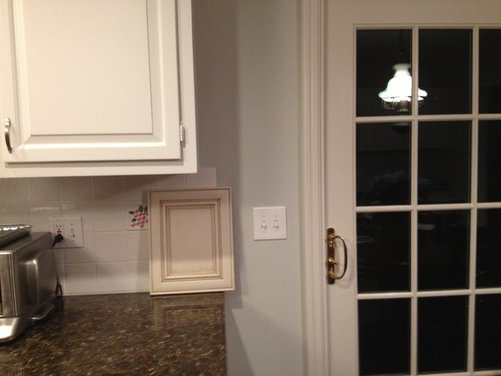 Help are cream cabinets ok with white trim for Cream kitchen cabinets with white trim