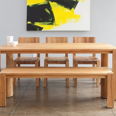 MASH Studios - PCHSeries Dining Table and Bench -
