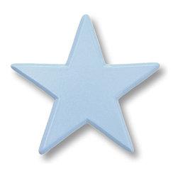 RR - Star Pastel Blue Drawer Pull - Star Pastel Blue Drawer Pull