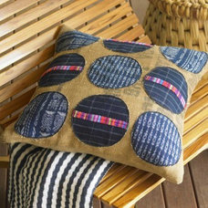 Eclectic Outdoor Pillows by VivaTerra