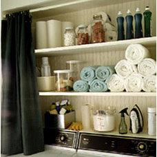 Eclectic  Martha Stewart Storage idea