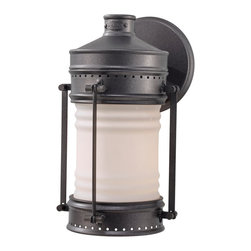 Feiss - Feiss OL9101OLC Dockyard 1 Light Oil Can Outdoor Wall Sconce - Finish: Oil Can