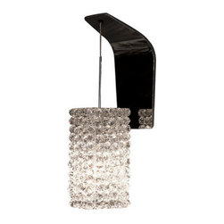 WAC Lighting - WAC Lighting WS72LED-G939 Haven Crystal Bead Shade Socketed LED Dimming Wall Sco - Features: