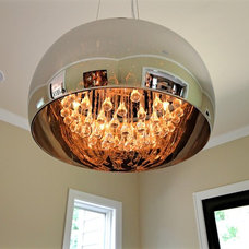 Contemporary Chandeliers by Griggs Homes Inc.
