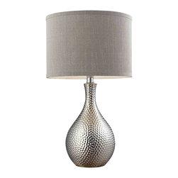 Dimond Lighting - Dimond Lighting HGTV124 HGTV Home Chrome Plated Table Lamp - Dimond Lighting HGTV124 HGTV Home Chrome Plated Table Lamp