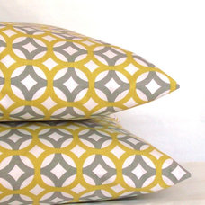 Modern Pillows by Pure Home Accents