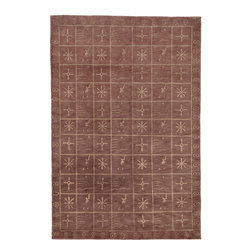 TB247B Tibetan Rug - 10'x14' - Safavieh's High Touch Tibetan Weave brings an ancient weave and fine materials to the present sensibilities of today's interior design. Simple geometric patterns, almost hidden within the weave, with muted accents, soft shades and neutral earth tones, are the main visual characteristics of this series.