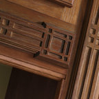 Schrock Mission Insert Moulding - Architectural  elements, such as this Mission Insert Moulding by Schrock add interest and pizzazz to a variety of cabinet styles.