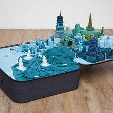 Yin Xiuzhen, Portable City: Hangzhou, 2011