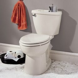 """American Standard Cadet 3 Elongated Toilet 14"""" Rough - Smarter design for higher performance and fewer clogs – all at a great price. The Cadet® 3 series toilets come in a variety of styles; one piece and two piece models, elongated and round front bowls, right height and compact versions and even water efficient models that flush on just 1.28 gallons per flush. The Cadet 3 is a hard working versatile series with superior performance."""