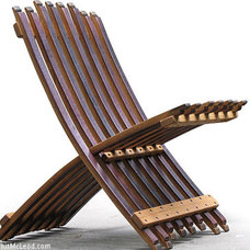 Contemporary Outdoor Folding Chairs by Whit McLeod