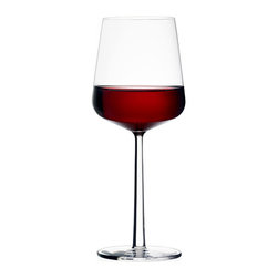 Iittala - Essence Red Wine Glass - Set of 2 - Iittala - The Essence Collection is something that is all at once innovative and simple. It is a few glasses that can serve a wide range of fine wines. The stems and bases are all the same size creating an aesthetic that is balanced and refined when placed side-by-side. The clean, lasting design of the Essence collection is a perfectly balanced blend of timeless beauty and functionality.