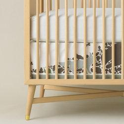 Dwellstudio Woodland Tumble Crib Skirt - Dwellstudio Woodland Tumble Crib Skirt