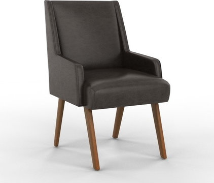 contemporary dining chairs by DwellStudio