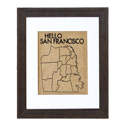 Hello San Francisco Art