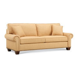 shop baker furniture sofa with damask upholstery products