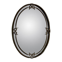 Quoizel - Quoizel Duchess Mirror - DH43024PN - Shop for Mirrors from Hayneedle.com! About Quoizel LightingLocated in Charleston South Carolina Quoizel Lighting has been designing timeless lighting fixtures and home accessories since 1930. They offer a distinctive line of over 1 000 styles including chandeliers lamps and hanging pendants. Quoizel Lighting is the perfect way to add an inviting atmosphere to any area in your home both indoors and out.