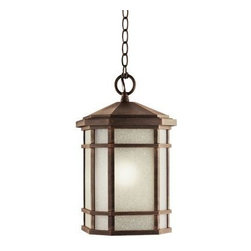 Kichler - Kichler 9511PR Outdoor Pendant 1 Light Incandesce in Prairie Rock - Technical Specs: