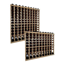 Wine Cellar Innovations - Vintner Wine Rack - 10 Column Top Stack W/ Lower Display - Each wine bottle stored on this ten column individual bottle wine rack is cradled on customized rails that are carefully manufactured with beveled ends and rounded edges to ensure wine labels will not tear when the bottles are removed. This wine rack also has a built in display row. Purchase two to stack on top of each other to maximize the height of your wine storage. Moldings and platforms sold separately. Assembly required.