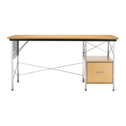 Eames Desk Unit | Design Within Reach - This desk designed by Charles and Ray Eames works well in commercial or residential work spaces.