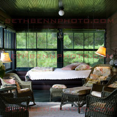 Eclectic Porch by Sethbennphoto