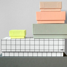 Modern Storage Bins And Boxes by Present & Correct