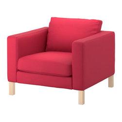 Tord Björklund - KARLSTAD Chair - Chair, Sivik pink-red