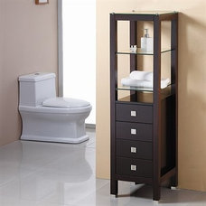 Traditional Bathroom Cabinets And Shelves by Vanities for Bathrooms