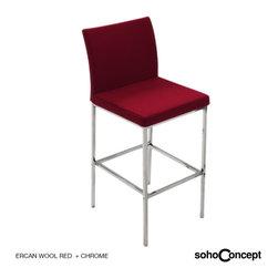 Soho Concept Aria Stool Fabric - Soho Concept Aria Counter and Bar Stool Fabric