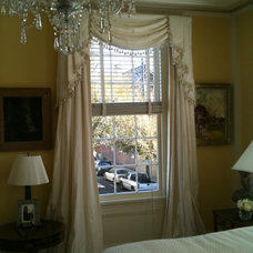 Traditional Curtains by Treasure Stead