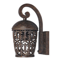 Designers Fountain - Designers Fountain 97591 Single Light Down Lighting Outdoor Wall Lantern from th - Features: