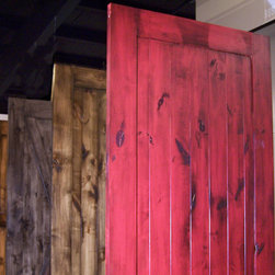 Barn Doors - A Solid Alder Barn Door Kits come in 7 different style and can be assembled in less than 20 minutes. We also make custom doors.