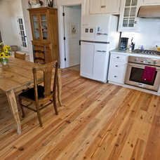 rustic wood flooring by Trestlewood