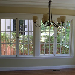 Artistic Millworks - San Francisco Windows - Artistic Millworks This is an After Photo of wooden windows we manufactured to match the look of the existing single pane units. We specialize in providing architecturally correct window replacement using Simulated Divided Lite over LoE Insulated Glass.