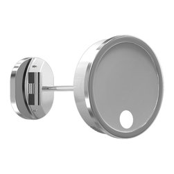 Single Arm Spot Light Wall Mirror by Remcraft Lighting -